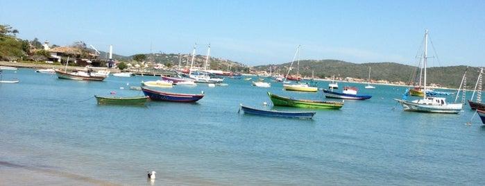 Praia dos Ossos is one of Região dos Lagos.