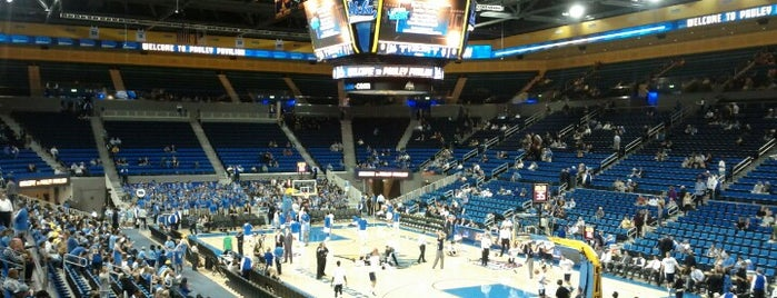 UCLA Pauley Pavilion is one of College Basketball Venues.