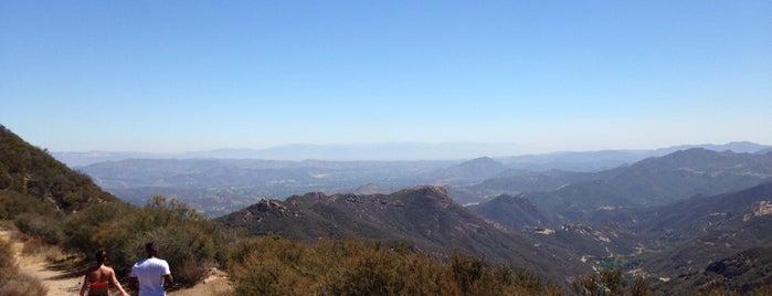Sandstone Peak is one of Los Angeles.