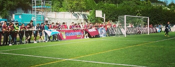 """Campo de Fútbol """"O Condús"""" is one of Campos de fútbol."""