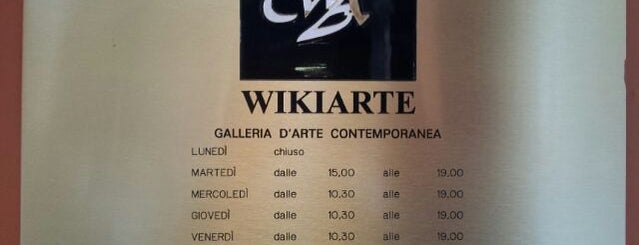 Galleria Wikiarte is one of Art White Night 2012.