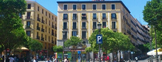 Plaza de Lavapiés is one of @ Madrid (MD, España).