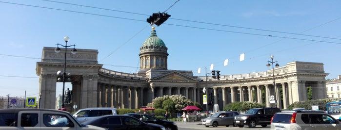 Казанская площадь is one of Санкт-Петербург.