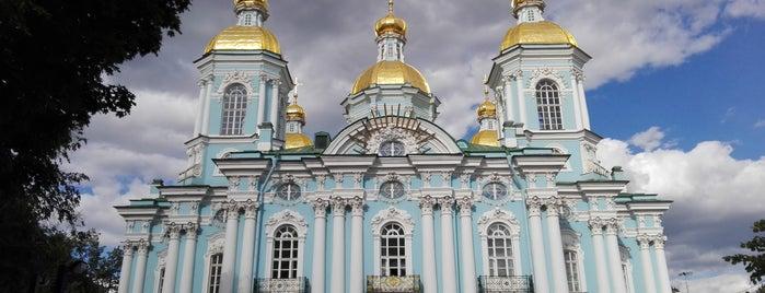Николо-Богоявленский морской собор is one of Санкт-Петербург.