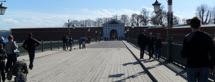 Иоанновский мост is one of Санкт-Петербург.