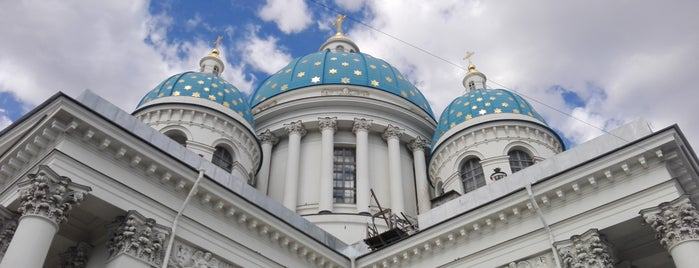 Троице-Измайловский Собор is one of Санкт-Петербург.
