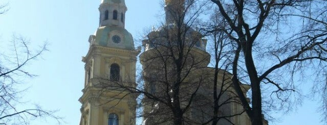 Peter and Paul Cathedral is one of Санкт-Петербург.