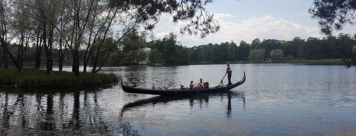 Чесменский (Большой) пруд is one of Санкт-Петербург.