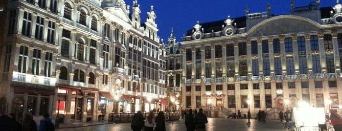 Grand Place is one of 1,000 Places to See Before You Die - Part 2.