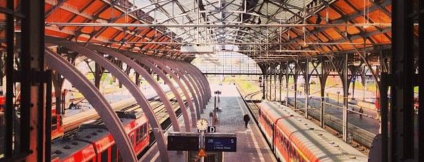 Lübeck Hauptbahnhof is one of Ausgewählte Bahnhöfe.