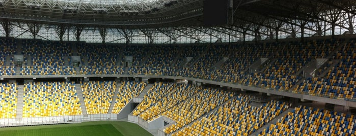 Arena Lviv is one of UEFA EURO 2012 venues.