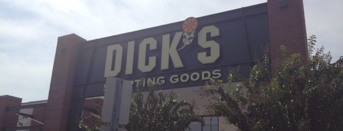 Dick's Sporting Goods is one of stores.