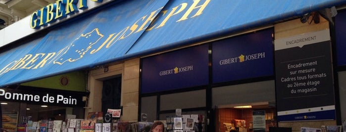 Gibert Joseph is one of Essential shopping in Paris.