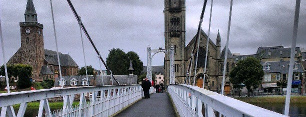 Greig St. Bridge is one of Must do in Inverness.