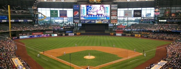 Miller Park is one of Major League Ballparks.