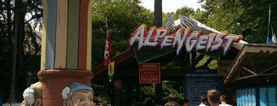 Alpengeist - Busch Gardens is one of Roller Coaster Mania.