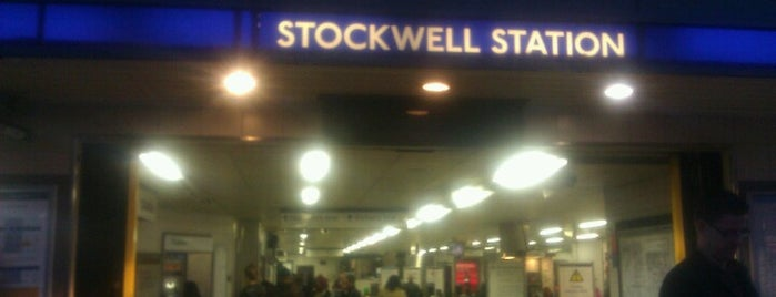 Stockwell London Underground Station is one of Tube Challenge.