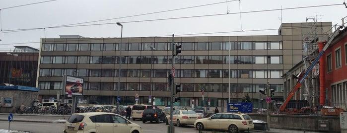 H Hauptbahnhof Nord is one of München Tramlinie 17.