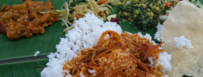 Mathai's Banana Leaf Restaurant is one of ampang food place, selangor.