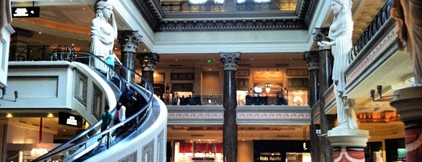 The Forum Shops at Caesars is one of Las Vegas.