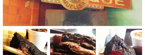 Louie Mueller Barbecue is one of The BEST of Texas BBQ!.