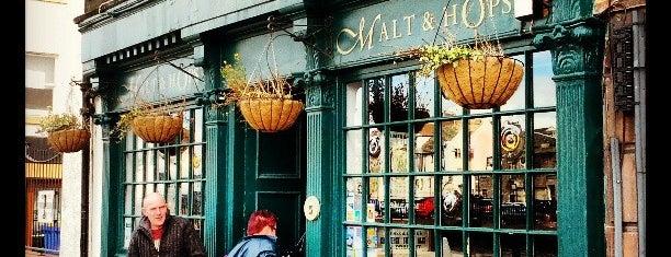 Malt & Hops is one of Real Ale in Edinburgh.