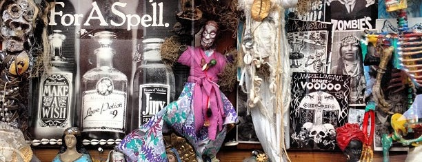 Reverend Zombie's Voodoo Shop is one of New Orleans City Badge - The Big Easy.