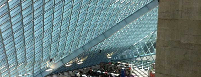 Seattle Central Library is one of Seattle.