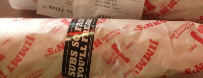 Jimmy John's is one of New Places to Eat.