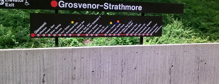 Grosvenor-Strathmore Metro Station is one of WMATA Train Stations.