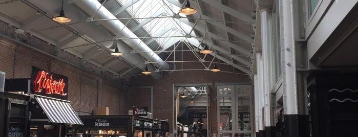Foodhallen is one of Old buildings with taste in Amsterdam.