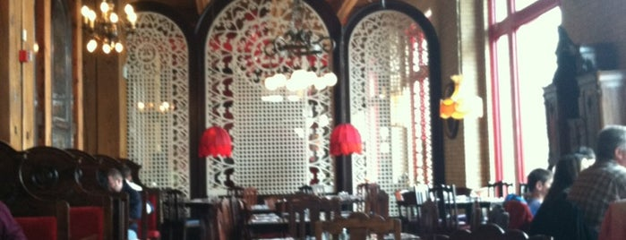 The Old Spaghetti Factory is one of fun places to check out.
