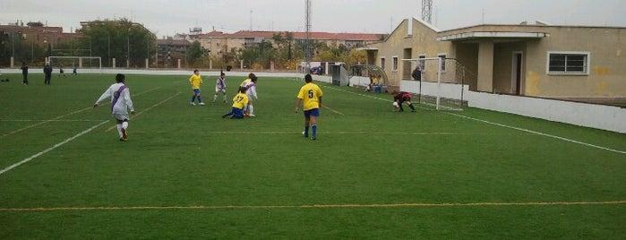 Escuela Federacion Futbol Madrid . Campo Ernesto Cotorruelo is one of Campos de futbol donde jugamos :).