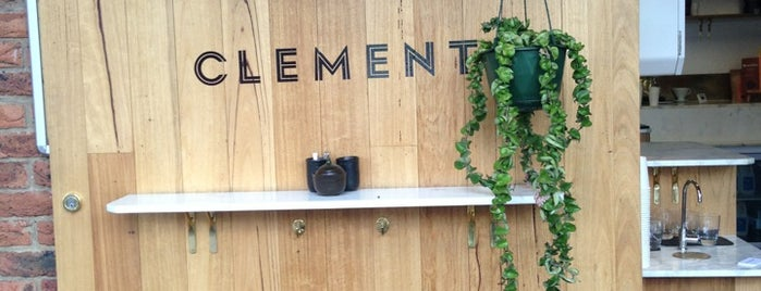 Clement Coffee Roasters is one of Been there.