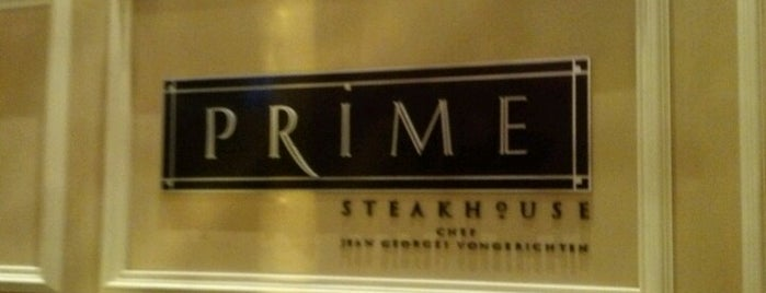 Prime Steakhouse is one of Las Vegas City Guide.
