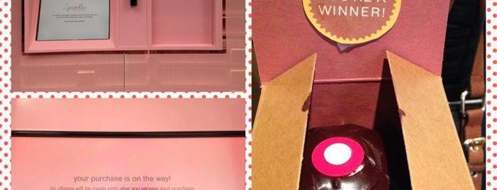 Sprinkles Cupcake ATM is one of NYC Food.