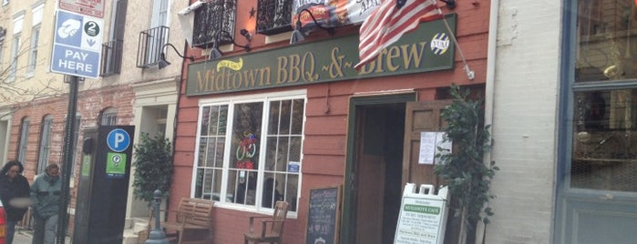Midtown BBQ & Brew is one of Stuff in Baltimore.