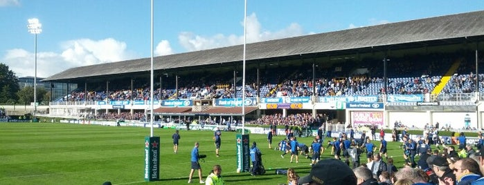 Royal Dublin Society (RDS) is one of UK & Ireland Pro Rugby Grounds.