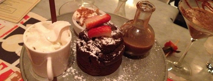 Max Brenner is one of Must-visit Dessert Shops in New York.