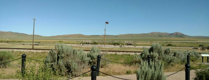 Golden Spike National Historical Site is one of National Parks.
