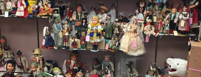 Gigi's Dolls and Sherry's Teddy Bears, Inc. is one of Buy Local Guide: Quirky and Kid-Friendly Shops.