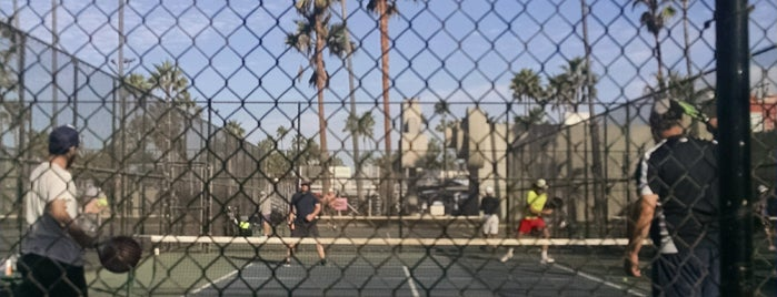 Venice Beach Paddle Tennis Courts is one of Venice.