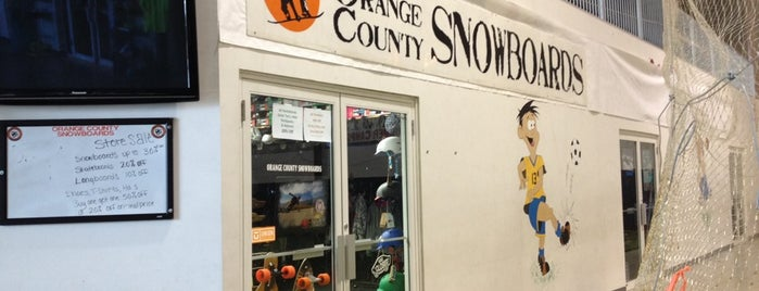 Orange County Snowboards is one of SNOWBOARD SHOPS.