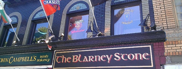 Blarney Stone Bar & Restaurant is one of SF Bars.