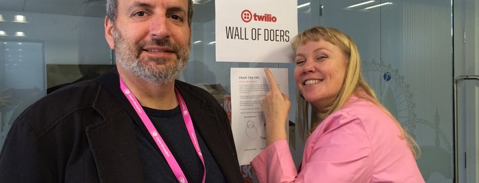 Twilio Europe HQ 4.0 is one of Silicon Roundabout / Tech City London (Open List).