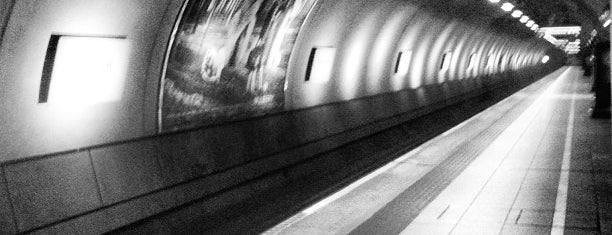 Heathrow Terminal 4 London Underground Station is one of Tube Challenge.