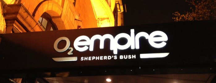 O2 Shepherd's Bush Empire is one of London - Live Music Venues.