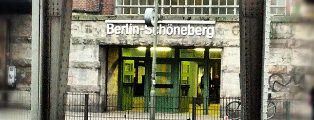 S Schöneberg is one of Besuchte Berliner Bahnhöfe.