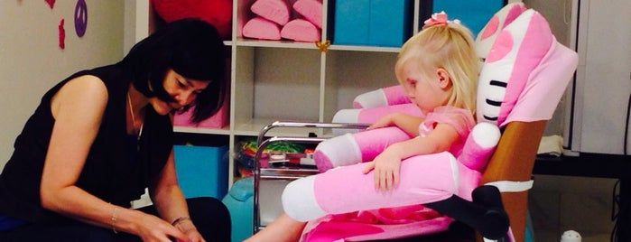 Pink Nail Bar is one of Trina's tips.