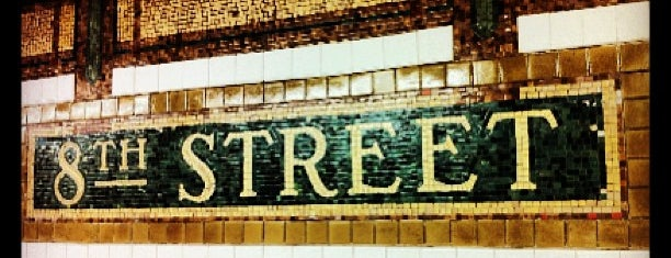 MTA Subway - 8th St/NYU (N/R) is one of MTA Subway - N Line.
